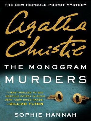 cover image of The Monogram Murders